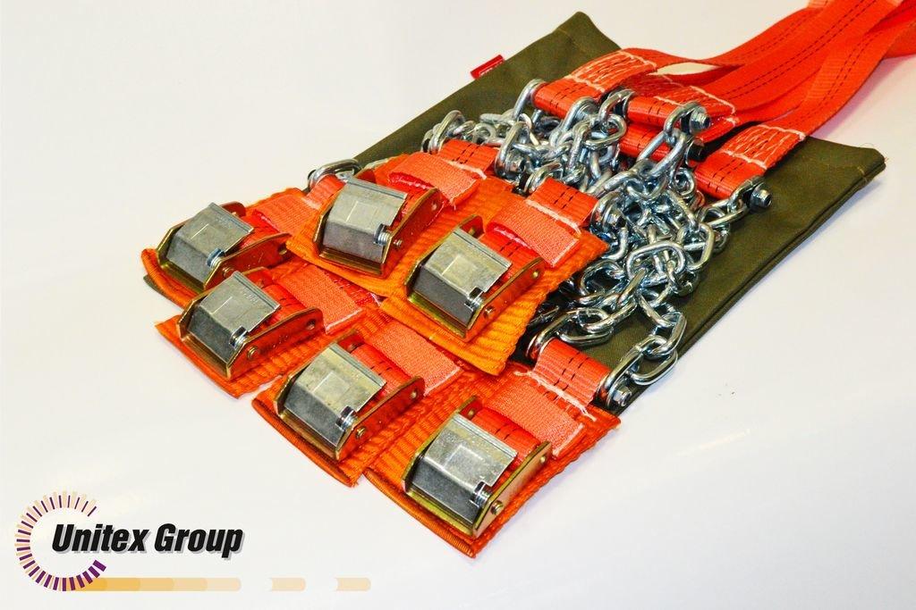 Комплект браслетов противоскольжения Secura 4WD R15-R21 6шт