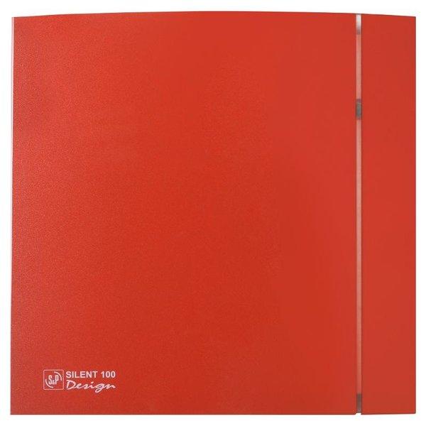 Вентилятор SolerPalau Silent-100 CZ red Design 4C