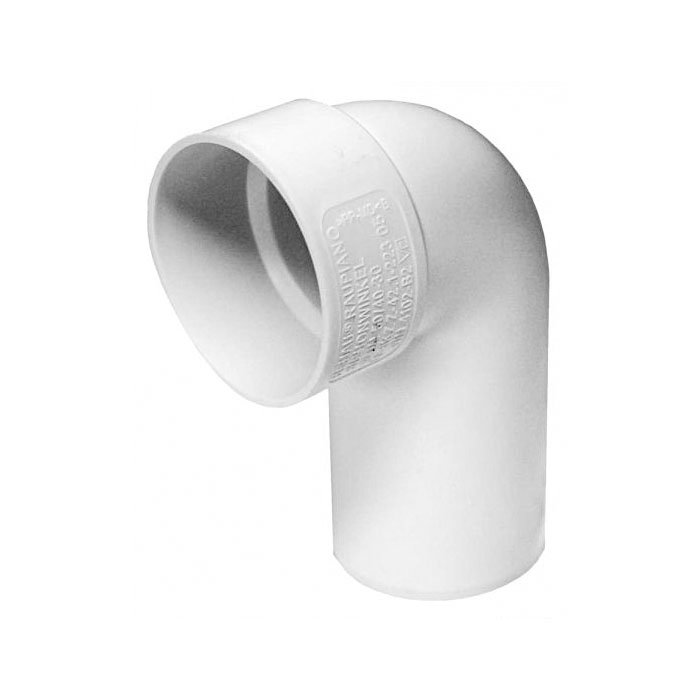 Rehau Raupiano Plus Отвод Отвод под сифон для систем внутренней канализации 50/40-30