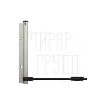 Дверные доводчики Доводчик дверной пружинный Justor 5613 (40 кг) матовый хром матовый хром
