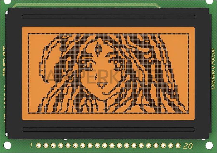 Графический дисплей MT-12864J-2FLA