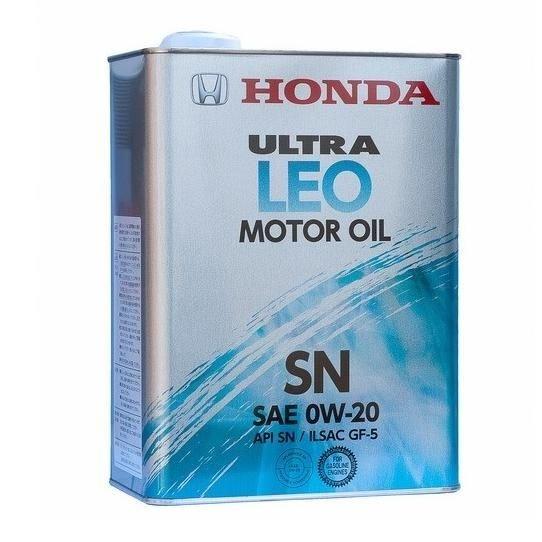 Моторное масло Honda Ultra LEO SN 0w20 4л (0821799974)