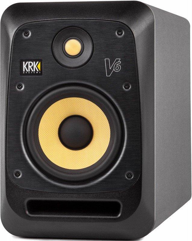 KRK SYSTEMS KRK V6S4 Активный 2-х полосный (Bi-Amp) 6-ти дюймовый студийный монитор, черный