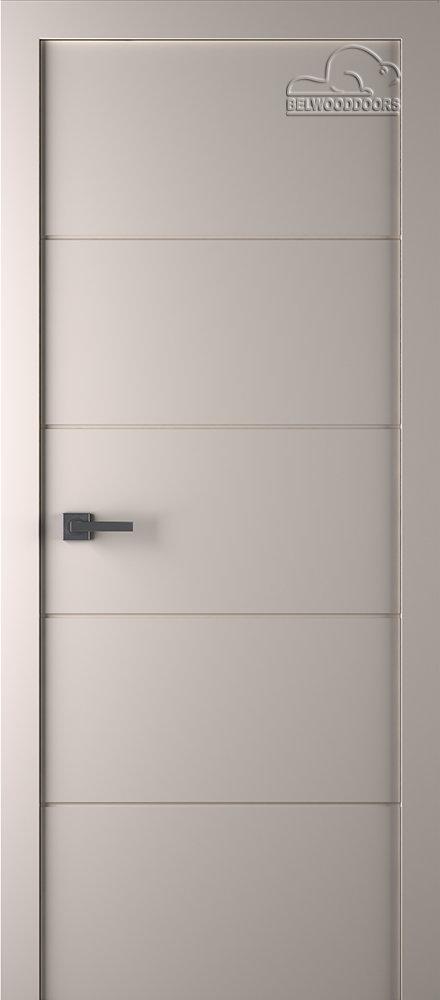 Межкомнатная дверь Arvika (полотно глухое) Эмаль слоновая кость - 2,0х0,6