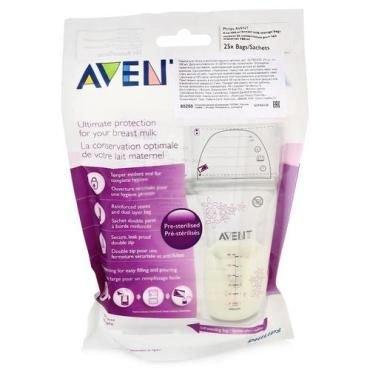Avent(авент) пакеты для хранения молока 180мл №25