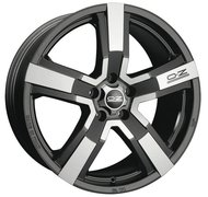 Колесный диск OZ Racing VERSILIA MATT BLACK DIAMOND CUT 8xR18 ET43 5*130 D71.6 - фото 1