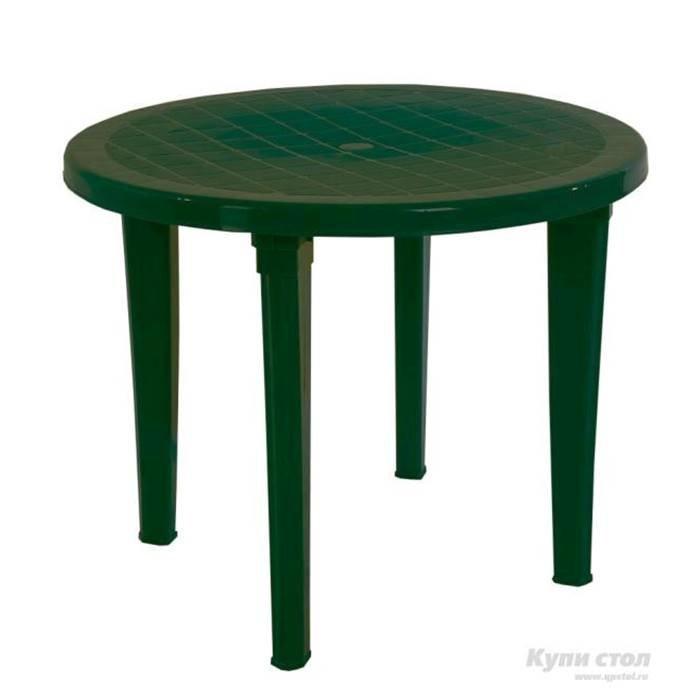 СПГ Стол круглый (зеленый)