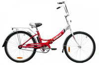 Велосипед двухколесный Байкал 2603 красный