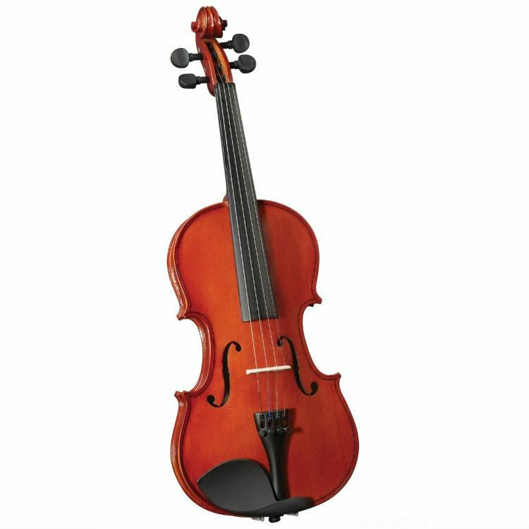 Скрипка CREMONA HV-150 Novice Violin Outfit 3/4 в комплекте легкий кофр, смычок и канифоль