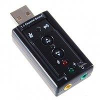 Звуковая карта USB 2.0 C-media TRAA71 (ASIA USB 8C V)