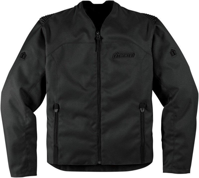 Icon Device Textile мотокуртка (размер: 3xl, цвет: черные)
