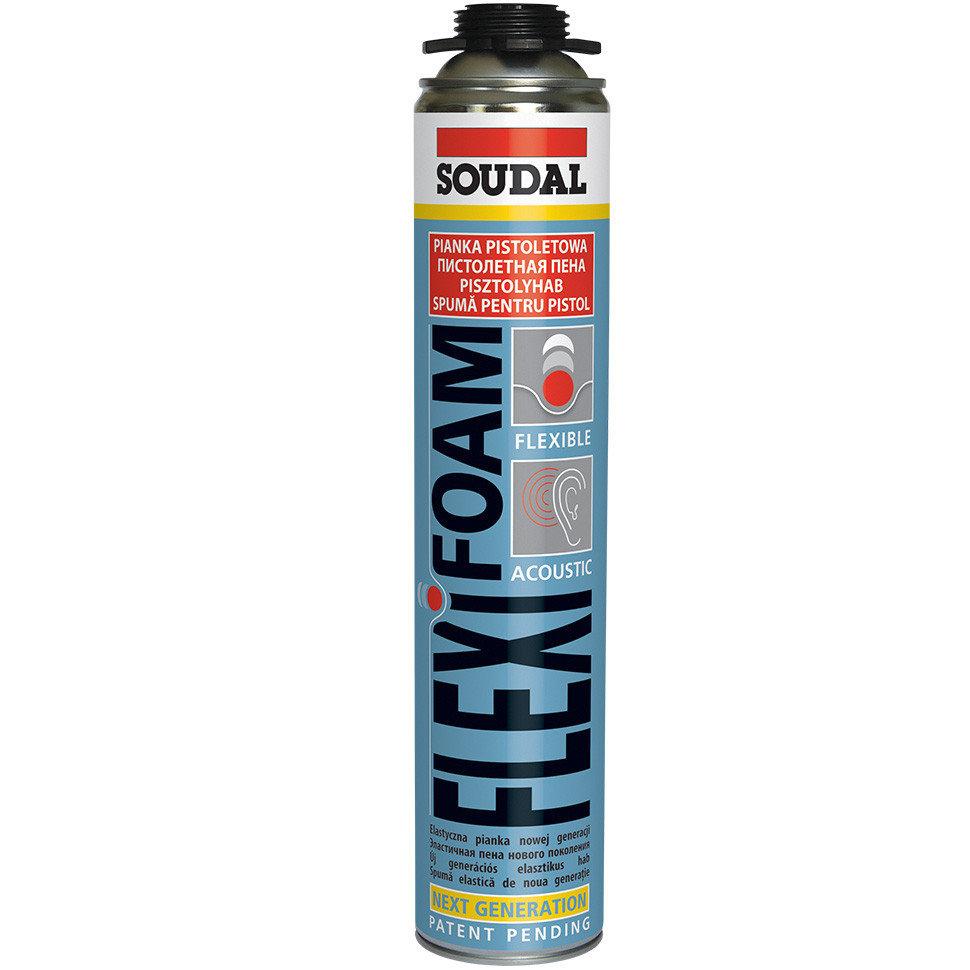 SOUDAL Flexifoam - Эластичная монтажная пена (750 мл)
