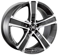 Диск OZ Racing Sahara 8x18/5x130 D71.6 ET43 Matt Graphite Diamond Cut - фото 1