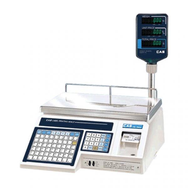 Весы с печатью этикеток CAS LP-R (ver. 1,6, TCР/IP) (15 кг.)