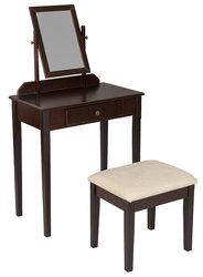 Туалетный Столик С Зеркалом, Венге