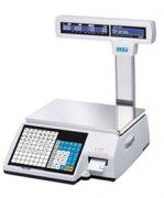 Весы с печатью этикеток CAS CL5000J-06IP