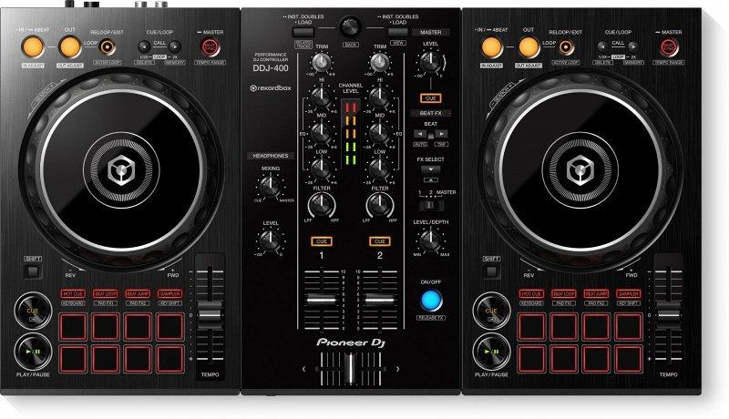PIONEER DDJ-400 двухканальный контроллер для rekordbox dj