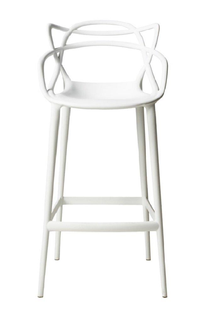 Барный стул MASTERS (Белый), Philippe Strack style