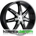 Kmc KM665 9x20/5x114.3 D72.62 ET38 Black_machined - фото 1