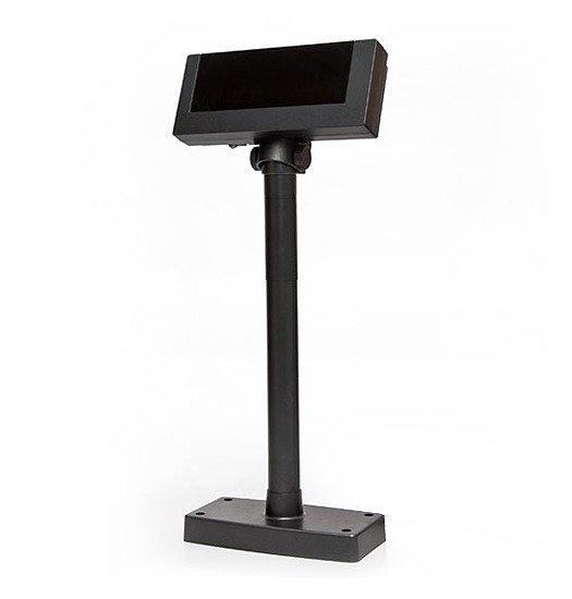 Дисплей покупателя Flytech 2x20 VFD (на подставке, с внешним блоком питания)