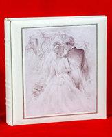 """Фотоальбом свадебный """"Холст"""" на 160 фото 13х18 см и 20 страниц 23х26 см, кармашки"""