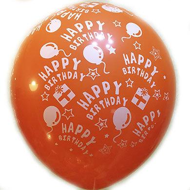 Happy Birthday шарики