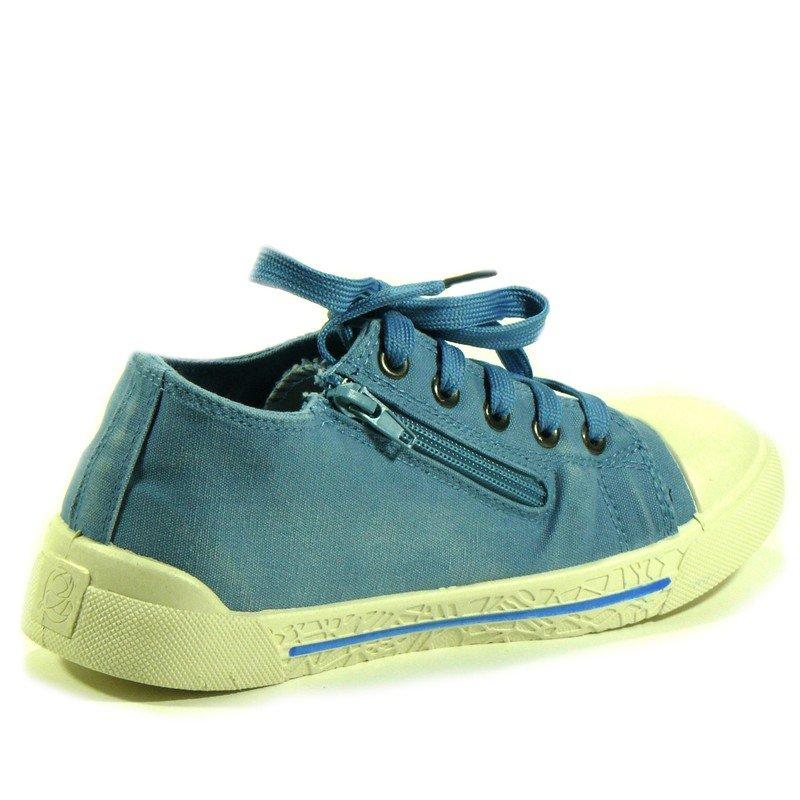 Спортивная обувь ECOTEX-ZEBRA Кеды детские EcoTex-Zebra, цвет синий, артикул 5-028TF
