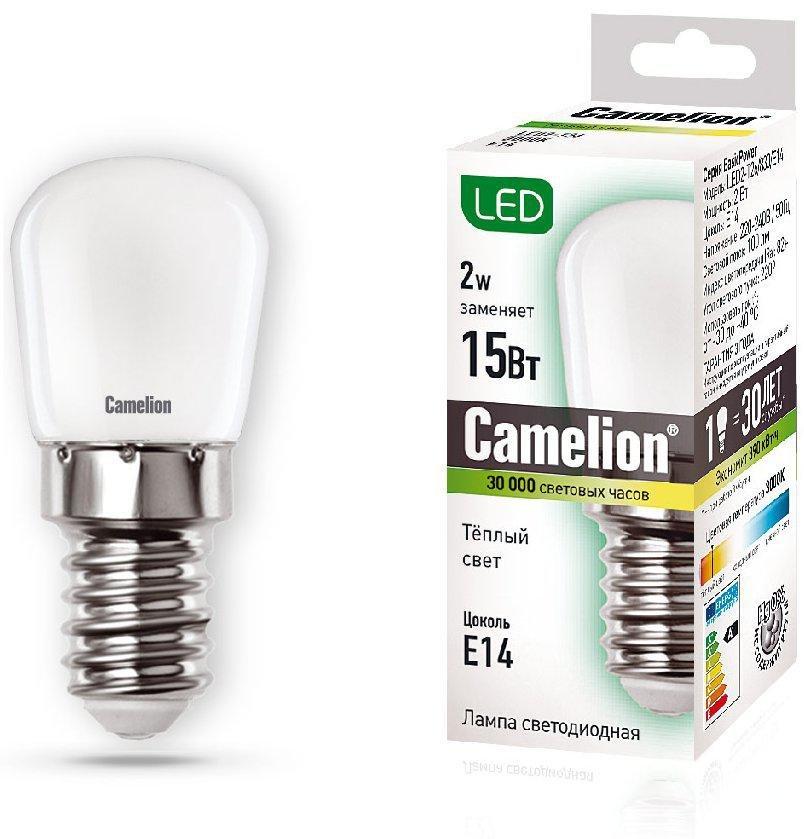 Лампа светодиодная Camelion Led2-t26/830/e14