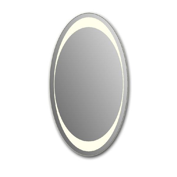 Зеркало зеркальные грани 55х100 (с подсветкой)