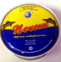 Печень трески натуральная , 230 г