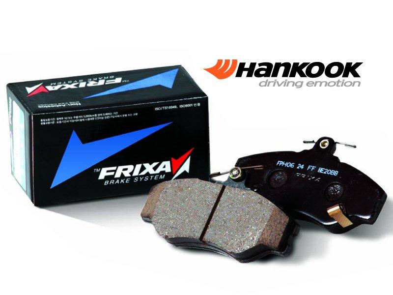 Передние тормозные колодки HANKOOK FRIXA на Lexus GS (05-11) / IS (05-13) / Toyota Camry V30 (арт. FPE019) ZIFPE019