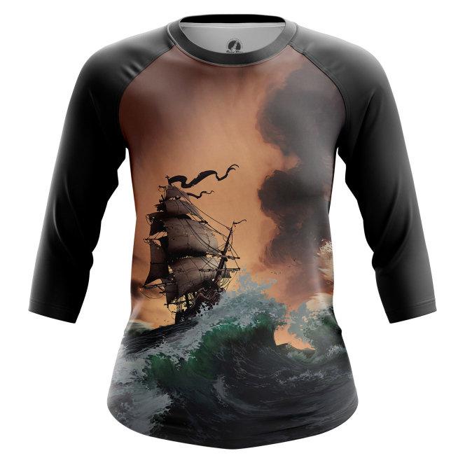 Реглан 3/4 teestore Пираты Пираты Карибского моря