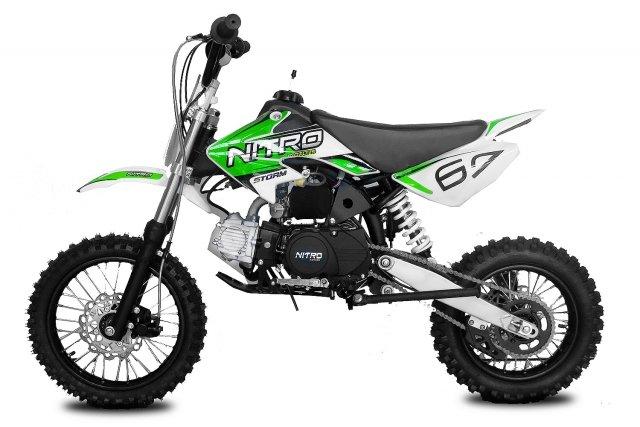 Кроссбайк NITRO Storm Dirtbike 4G 110cc