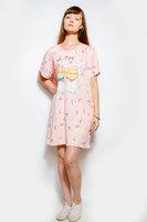Сорочка ночная розовая