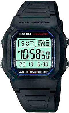Японские наручные часы Casio Collection W-800H-1A
