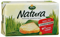 Масло Arla Natura сливочное 82%, 180г