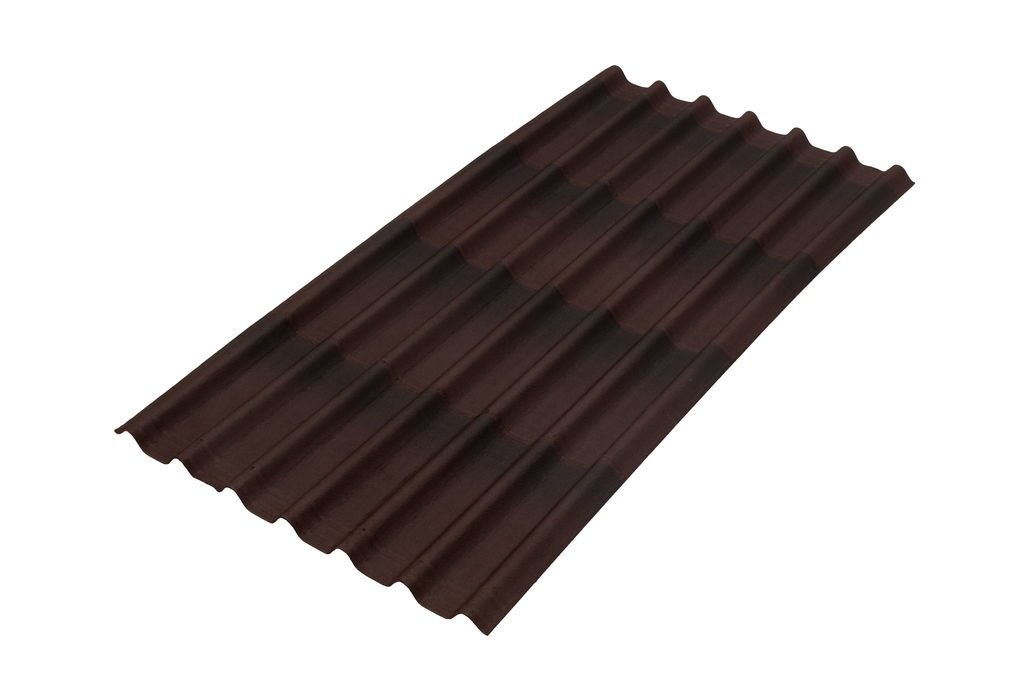Ондулин Черепица Onduline коричневый