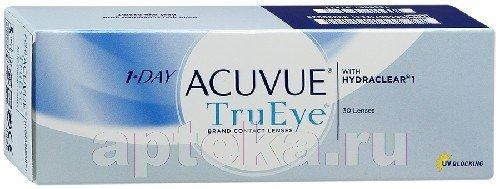 Acuvue 1day trueye 8,5 n30 /-3,50/ контактные линзы
