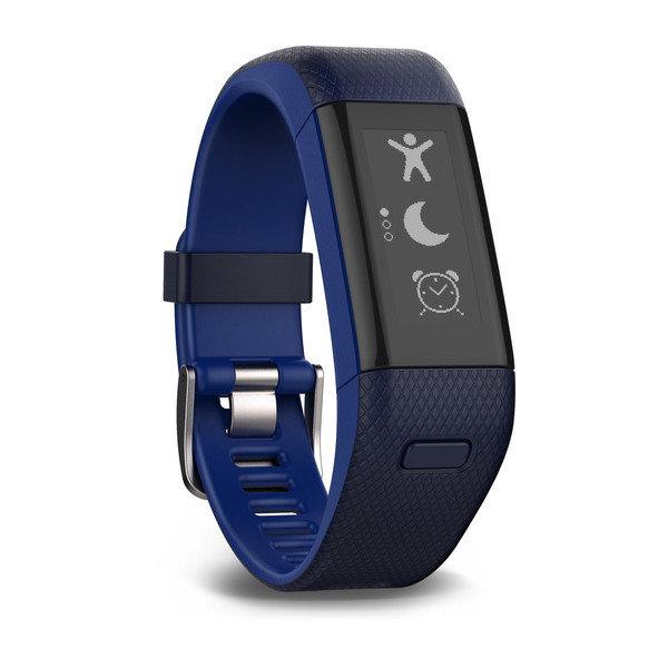 Фитнес-браслет Garmin Vivosmart HR+ Blue (Синий), Regular Fit