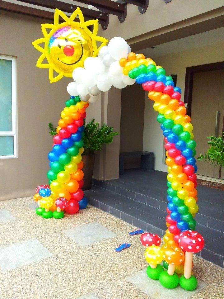 Арка из шаров для детских праздников, 11 м