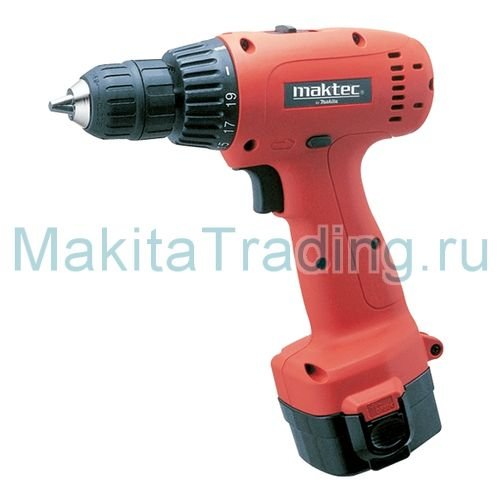 Аккумуляторная дрель-шуруповерт Maktec MT063SK2N (MT 063 SK2N)