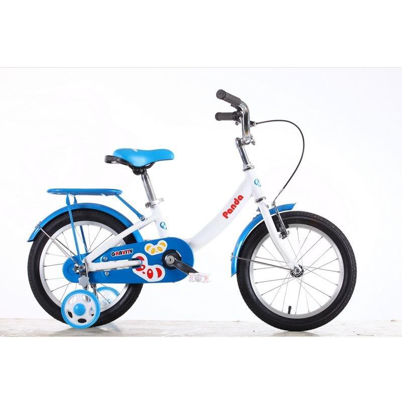 Детский велосипед Gravity Panda 16 (2015), цвет: бело-голубой