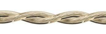 Ретро кабель (50м) 2*1.5 прозрачный, ПУП(Л) Подольсккабель
