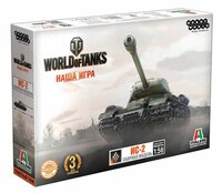 World of Tanks Сборная модель Танк ИС-2