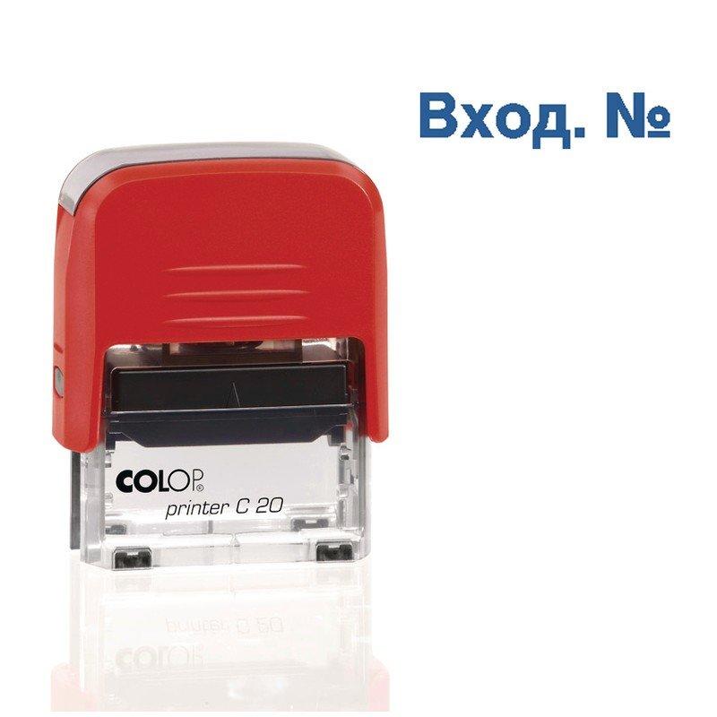 Штамп стандартный Colop Printer C20 1.22 пластиковый слово Вход. №