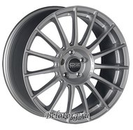 Диск OZ Racing Superturismo LM 7.5x17/5x108 D75 ET40 Matt Race Silver + Black Letters - фото 1