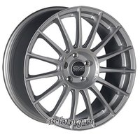 Диск OZ Racing Superturismo LM 7.5x17/5x108 D75 ET40 Matt Race Silver + Black Letters