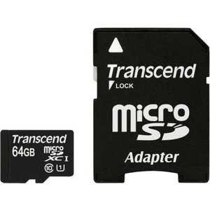 Карта памяти Transcend MicroSD 64GB (TS64GUSDU1)