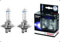 Лампа галогенная BOSCH H7 Gigalight Plus 120 12V 55W, 2 шт, 1987301107
