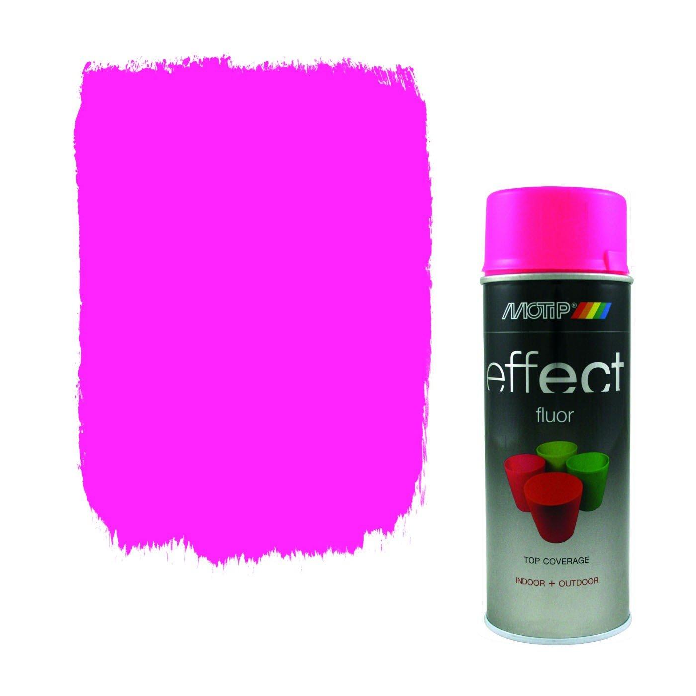 Краски универсальные MOTIP DUPLI B.V. Эмаль-аэрозоль MOTIP DECO флуоресцентная розовая, 400мл